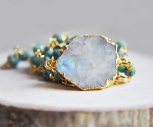 crystals, etsy, and raw stone image
