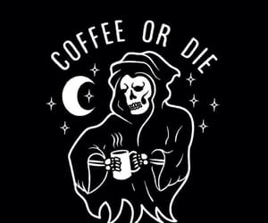 coffee, die, and wallpaper image