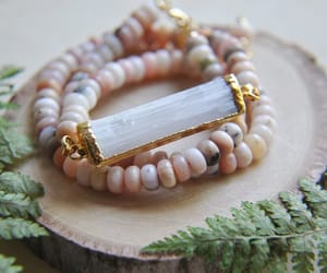 crystals, etsy, and pink image