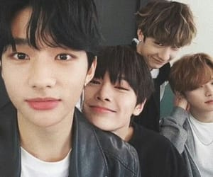 hyunjin, jeongin, and stray kids image
