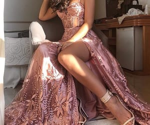 dress, beauty, and girl image