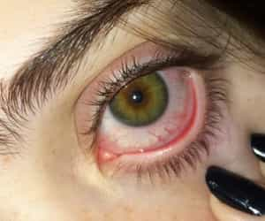 eyes, weed, and canabis image