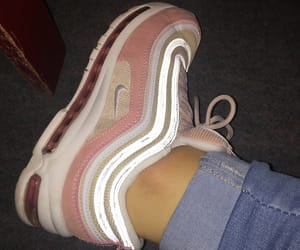jeans, nike, and pink image