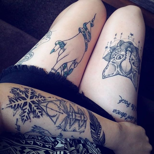 alternative, inked girls, and article image
