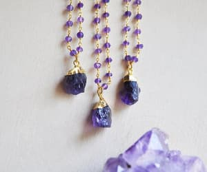 crystals, etsy, and stone jewelry image