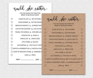 etsy, wedding games, and bridal shower games image