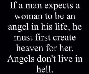 quotes, angel, and hell image
