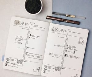 journal, monthly, and simple image