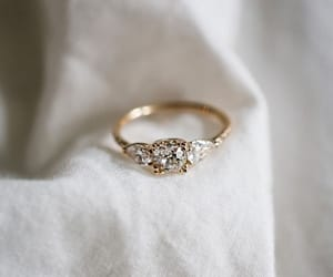 accessories, fashion, and engagement ring image