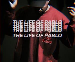 kanye west, theme, and pablo image