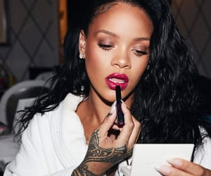 beauty, makeup, and rihanna image