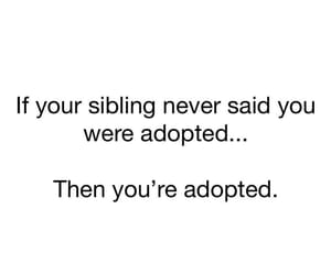 adopted, childhood, and laugh image
