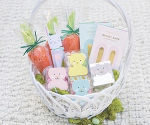 bunny, candy, and carrot image