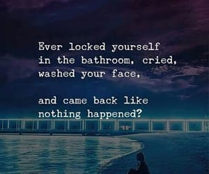 act, bathroom, and cry image