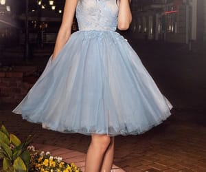 Full Skirt, strapless, and strappy image