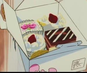 anime, food, and 90s image