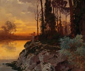 symbolism, 19th century, and landscape image
