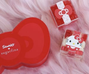 candy, hello kitty, and sugar image