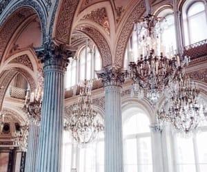 art, gold, and architettura image