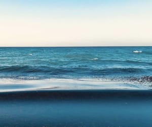 blue, ocean, and photography image