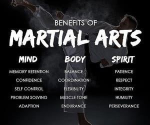 body, benefits, and martial arts image