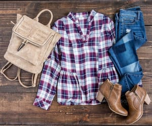 autumn, bag, and boots image
