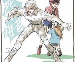 anime, anime boy, and hataraku saibou image