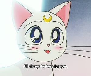 sailor moon, anime, and artemis image