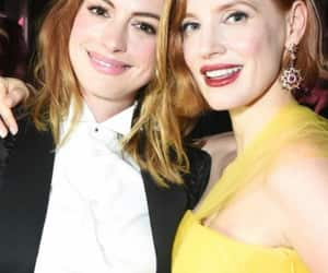 Anne Hathaway, celebrities, and friendship image