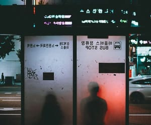 couple, lonely, and neon image