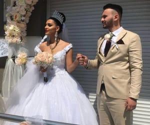 bonheur, couple, and dress image
