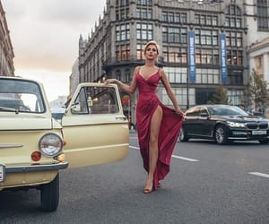 body, car, and dress image