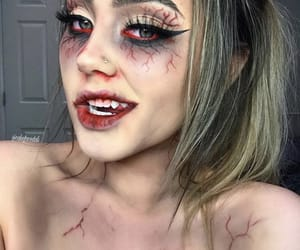 costume, zombie makeup, and diy image