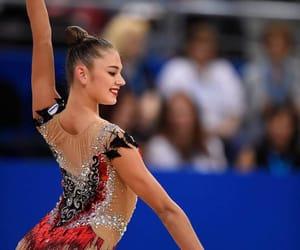 hoop, rhythmic gymnastics, and soldatova image