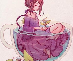 art, illustration, and cup image