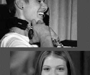 couple, michelle, and justin bieber image