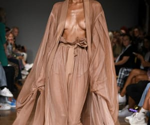 brown, fashion week, and colors image