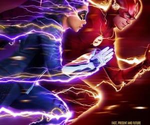 the flash, barry allen, and nora allen image