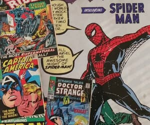 comic, Marvel, and spiderman image