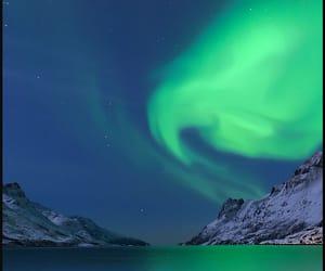 aurora borealis, hubble, and nebula image