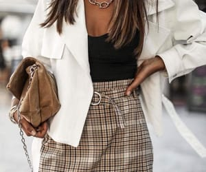 blogger, outfit, and street style image