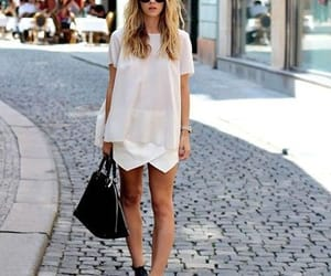cool girl, rubia, and street style image