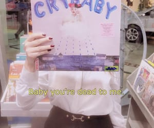 aesthetic, baby, and crybaby image