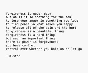 forgiveness, let go, and poetry image