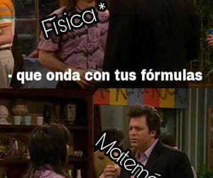 meme, matematicas, and física image