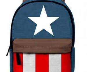 Marvel, escuela, and capitanamerica image