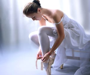 ballet, soft, and ballet shoes image
