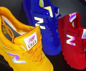 new balance, nike, and sneakers image