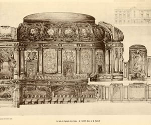 interior design, palace, and beaux-arts image