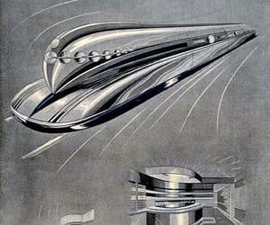 1930s, Retro Futurism, and streamline image